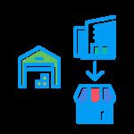 倉庫とオフィスと店舗